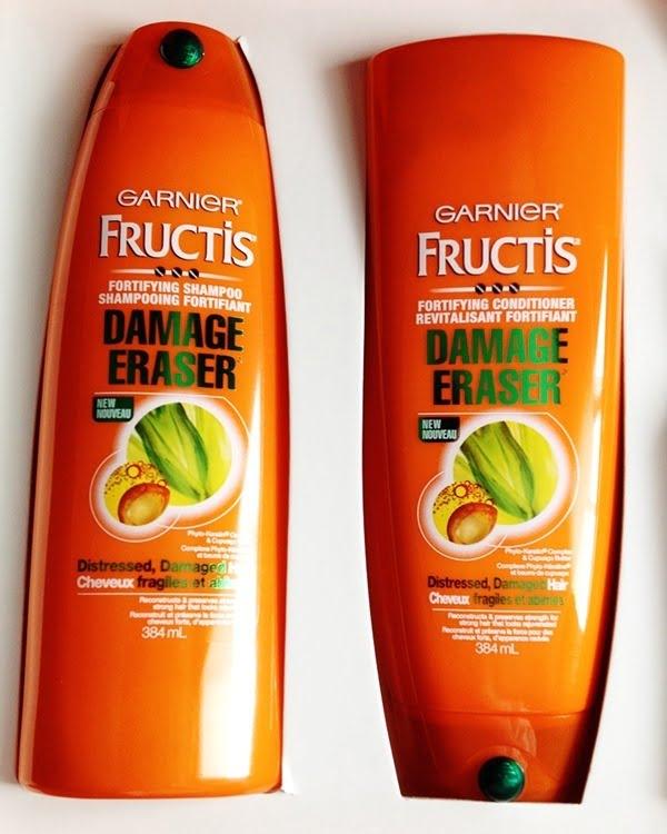 Bộ gội xả garnier fructis damage eraser chính hãng