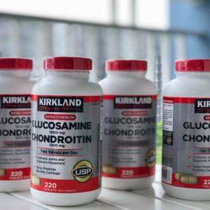 Glucosamine 1500mg & Chondroitin 1200mg Kirkland Signature 220 Viên