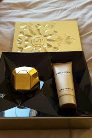 Bộ quà tặng nước hoa, dưỡng thể Lady Million Paco Rabanne Eau De Toilette