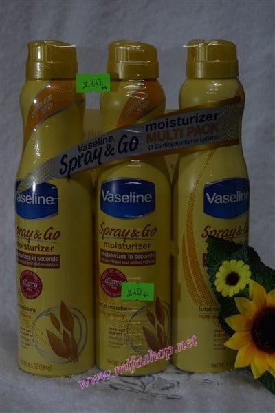 Dưỡng Ẩm Vaseline Spray & Go 1