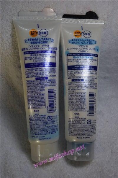 Sữa rửa mặt làm trắng da Kose Softymo White