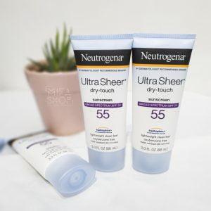 Kem Chống Nắng Ultra Sheer Dry Touch SPF 55 Neutrogena 88ML