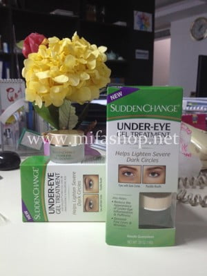 Gel chuyên trị quầng thâm cho vùng mắt Sudden Change Under-Eye Gel treatment - 14g