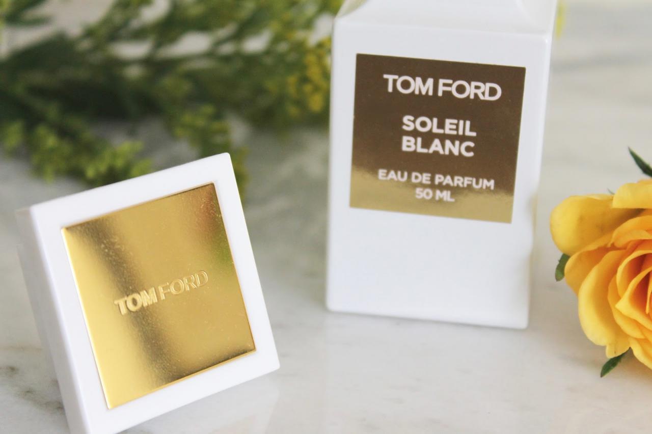 NƯỚC HOA TOM FORD SOLEIL BLANC FOR MEN & WOMEN - BEST SELLER 2016