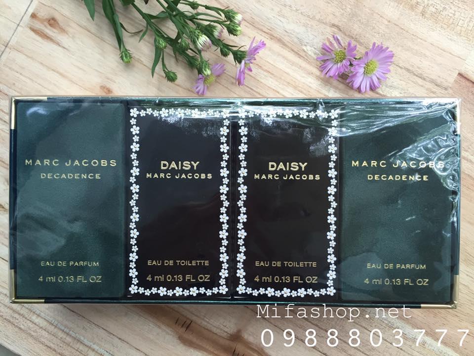 Set Quà Tặng MarcJacobs Daisy Decadence đam mê khám phá