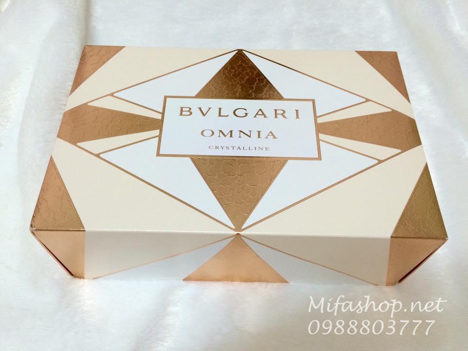 Set quà tặng BLVgari omnia Crystalline
