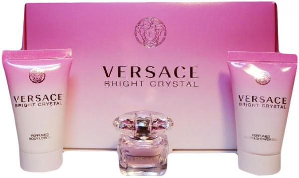 Set Versace Bright Crystal mini 5ml