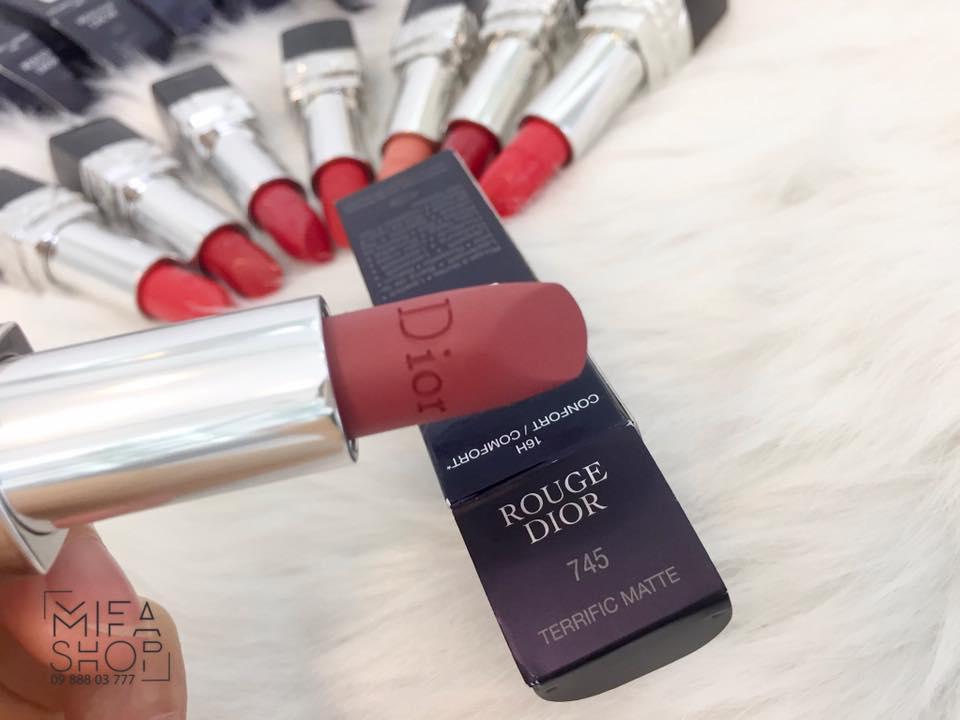 Son Dior Rouge 745 terrific matte_mifashop