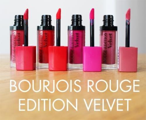 Son li dạng nước Bourjois Rouge Edition Velvet
