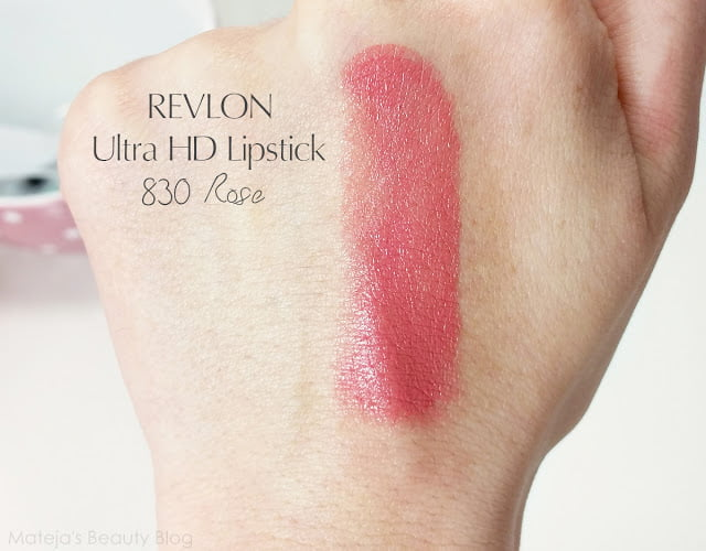 Son môi Revlon Ultra HD 830 Rose 1