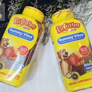 Kẹo gấu gummy vites lil critters bổ sung vitamin tổng hợp cho bé