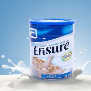 Sữa Ensurre Complete Balanced Nutrition hương vani chính hãng