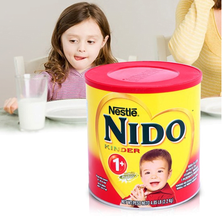 Sữa Nestle Nido Kinder 1 bổ sung men tiêu hóa 1,6kg chính hãng