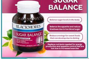 Viên uống cân bằng đường huyết Blackmores sugar blance 90 viên chính hãng