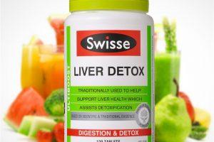 Viên uống thải độc cho gan Swisse liver detox 120 viên chính hãng
