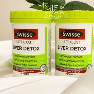 Viên Uống Hỗ Trợ Thải Độc Gan Liver Detox Swisse Úc 120 viên 02