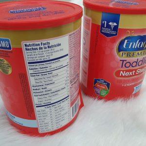 Sữa Enfgrow dành cho bé từ 1-3 tuổi Enfagrow Premium Non-GMO Toddler Next Step 680g chính hãng