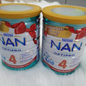 Sữa Nan Optipro số 4 Nga cho bé trên 28 tháng 800g chính hãng
