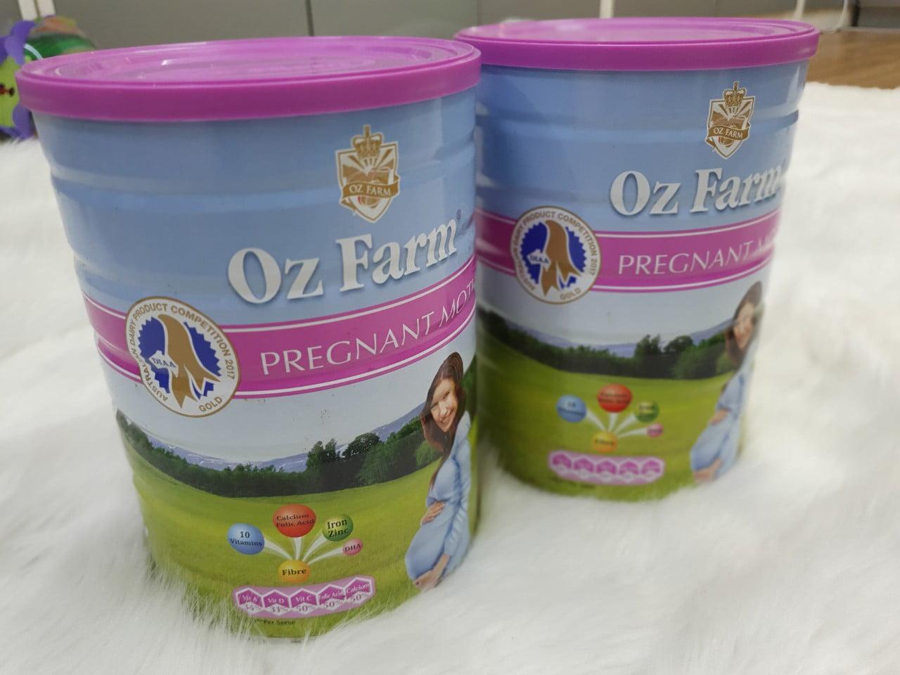 Sữa bầu Oz Farm Pregnant Mother Formula 900g chính hãng