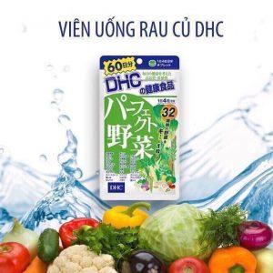 Viên uống bổ sung rau củ DHC Nhật chính hãng