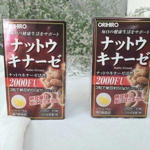 Viên uống hỗ trợ điều trị tai biến Orohiro Nattokinase 2000FU của Nhật chính hãng