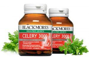 Viên uống trị gút Blackmores celery 3000mg chính hãng