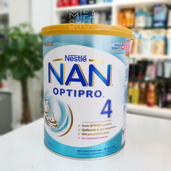 Sữa Nan Optipro số 4 Nga cho bé trên 28 tháng 800g