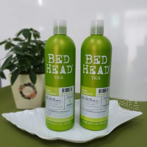 Bộ gội xả head bed tigi xanh lá 750ml