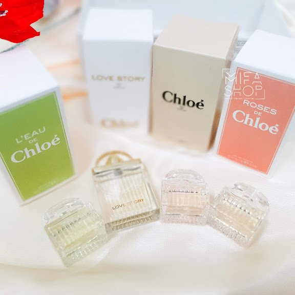 Bộ quà tặng nước hoa Chloe 4 chai mini chính hãng 2
