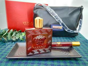 Bộ quà tặng nước hoa versace eros flame 100ml túi xách