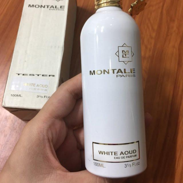 Nước hoa unisex montale trắng aoud eau de parfum 100ml chính hãng