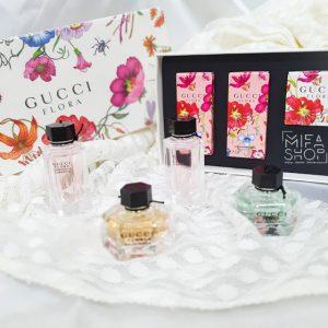 Bộ nước hoa gucci flora mini 4x5ml