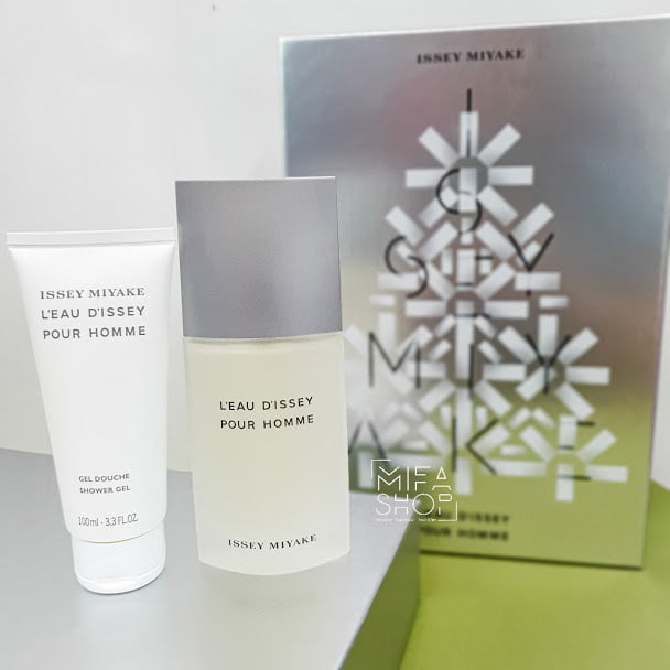 BỘ NƯỚC HOA ISSEY MIYAKE L'EAU D'ISSEY POUR HOMME 125ML mifashop 1