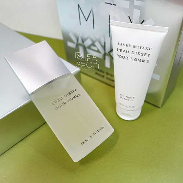 BỘ NƯỚC HOA ISSEY MIYAKE L'EAU D'ISSEY POUR HOMME 125ML mifashop