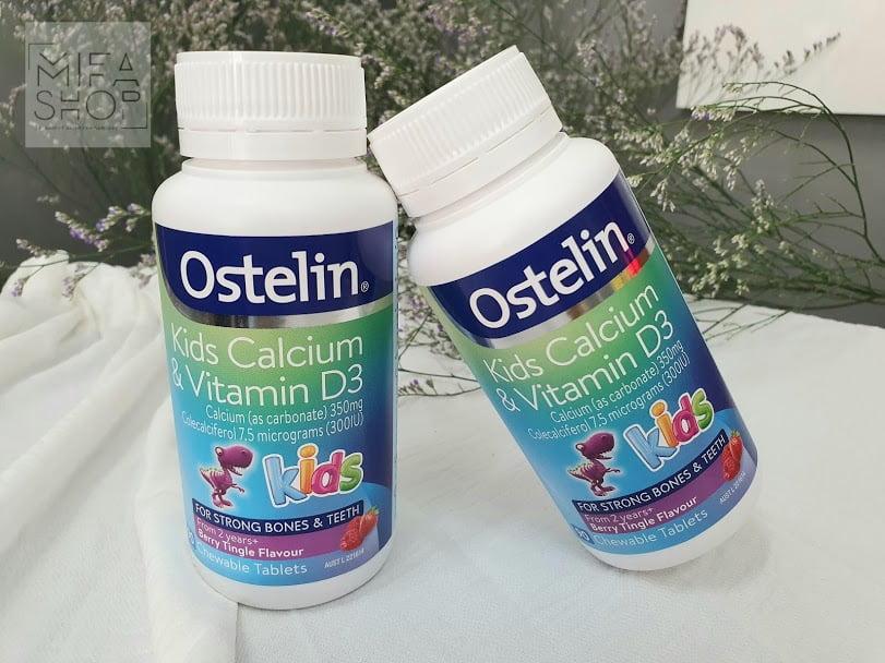 Canxi Và Vitamin D3 Ostelin Kids 90 Viên Của Úc