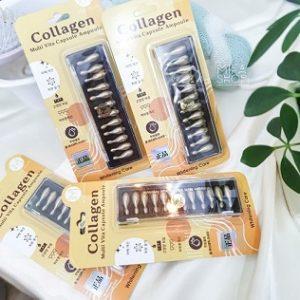 Collagen tươi ammud Multi Vita Ampoule Hàn Quốc vỉ 12 viên