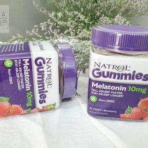 Kẹo ngủ gummies natrol melatonin 10mg 90 viên 3