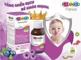 Siro cho bé Pediakid Immuno Fort 125ml chính hãng