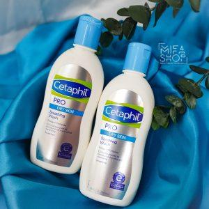 Tăm bé Cetaphil Pro Dry Skin Soothing Wash 296ml chính hãng