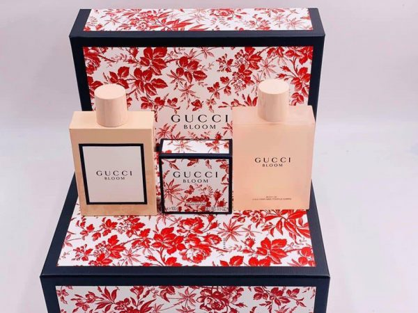 bộ nước hoa gucci bloom 100ml, lotion 100ml, body oil 100ml mifashop 1
