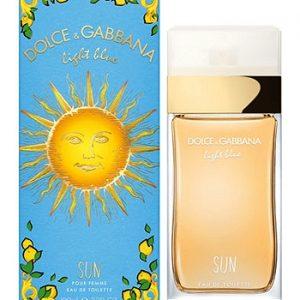 Nước hoa nữ Dolce & Gabbana Light Blue Sun edt 100ml 3