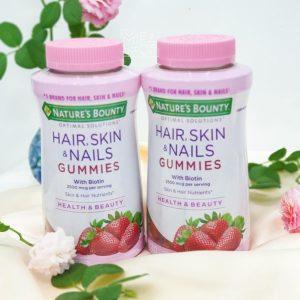 Kẹo Dẻo Hair, Skin & Nails Gummies 80 viên 1