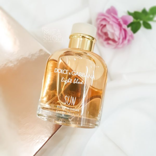 Nước hoa nam Light Blue Sun Dolce & Gabbana pour homme 125ml 3