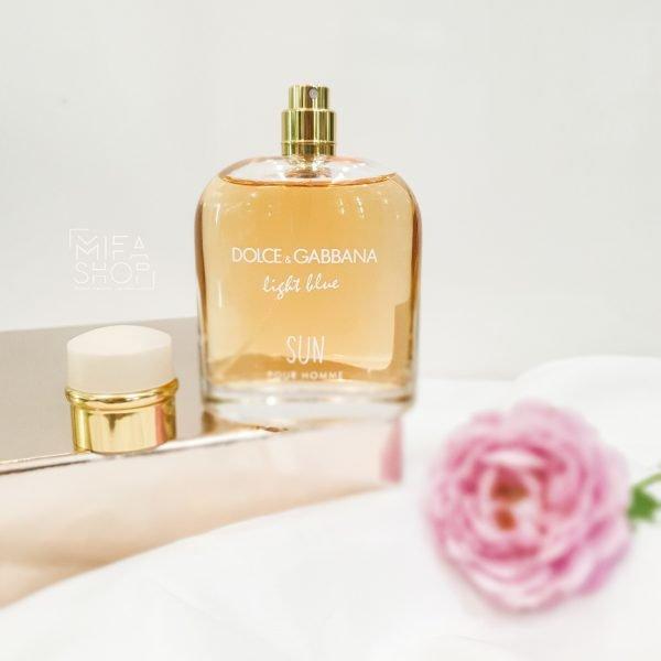 Nước hoa nam Light Blue Sun Dolce & Gabbana pour homme 125ml 4