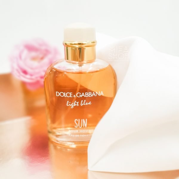Nước hoa nam Light Blue Sun Dolce & Gabbana pour homme 125ml 6