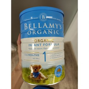 Bellamy's Organic Infant Formula Số 1