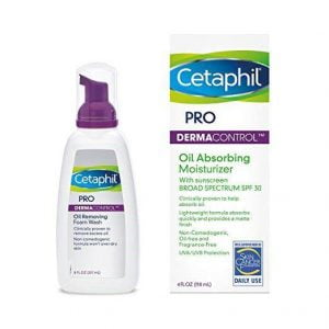 Sữa rữa mặt Cetaphil Pro Dermacontrol oil removing Foam Wash