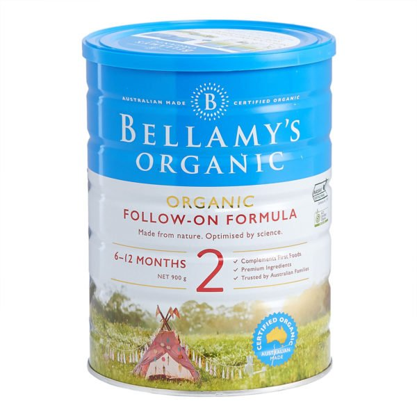 Sữa Bellamy's Organic Follow On Formula Số 2