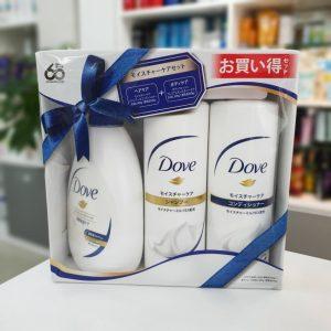 Bộ gội xả và sữa tắm dove nhật 1