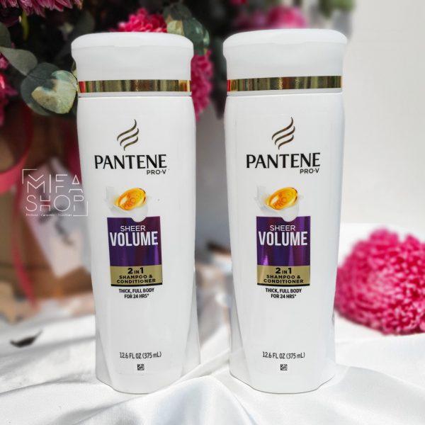 Dầu Gội xả Pantene Pro-V Sheer Volume 2in1 Shampoo + Conditioner